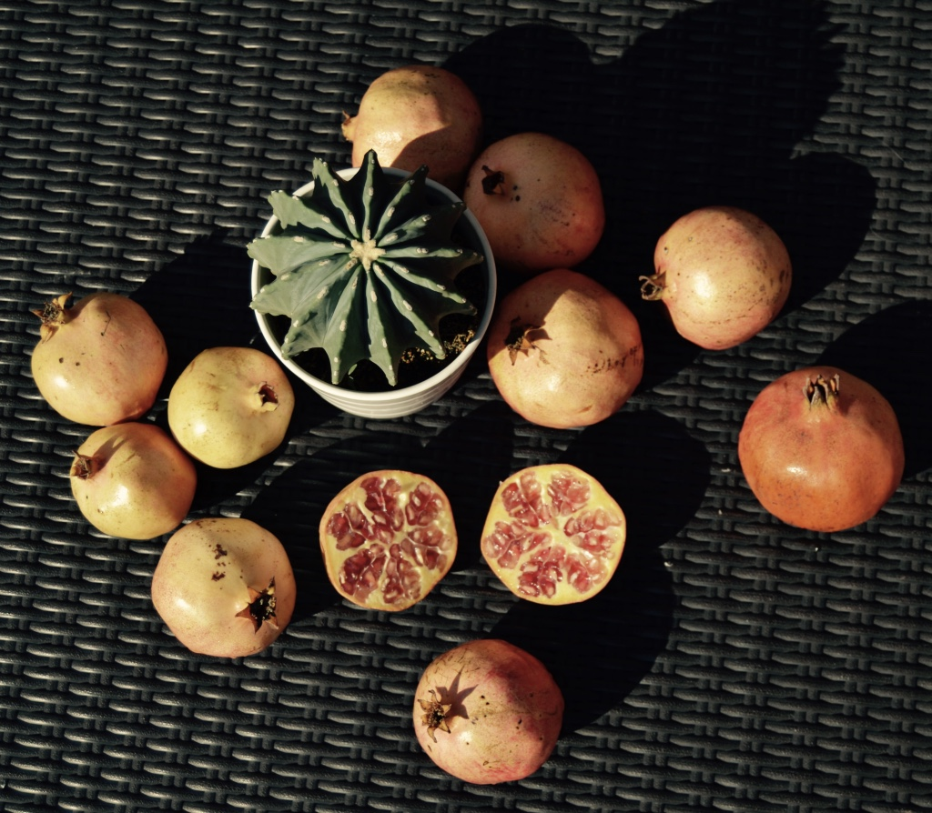 how to eat pomegranate fruit