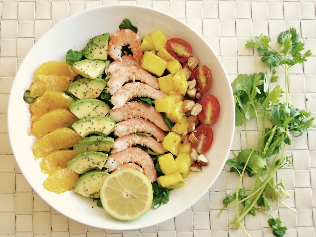 Exotic salad recipes