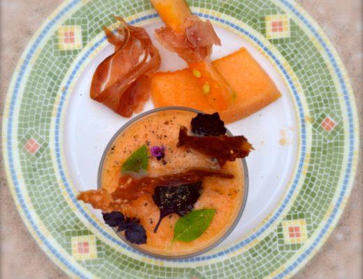 healthy recipies fresh melon soup